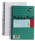 Pukka Pad Notebook Wirebound Jotta 80gsm Ruled 200 Pages A5 Metallic Ref JM021 [Pack 3]